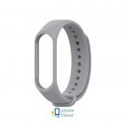 Ремешок для браслета Xiaomi Mi Band 3/4 Strap Gray