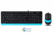 A4Tech F1010 Black/Blue USB