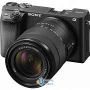 SONY Alpha 6400 kit 18-135 Black (ILCE6400MB.CEC)