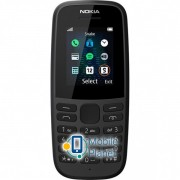 Nokia 105 DS 2019 Black Госком