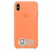 Аксессуар для iPhone Apple Silicone Case Papaya (MVF72) for XS Max