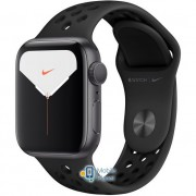 Apple Watch Nike Plus Series 5 (GPS) 40mm Space Gray Aluminum Case with Anthracite/Black Nike Sport Band (MX3T2)