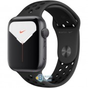 Apple Watch Nike Plus Series 5 (GPS) 44mm Space Gray Aluminum Case with Anthracite/Black Nike Sport Band (MX3W2)