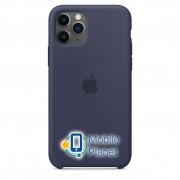 Аксессуар для iPhone Apple Silicon Case Midnight Blue (MWYJ2) for 11 PRO