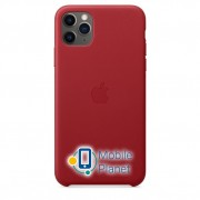 Аксессуар для iPhone Apple Leather Case (PRODUCT) RED (MX0F2) for 11 Pro Max