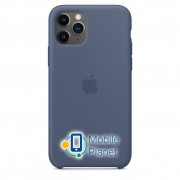 Аксессуар для iPhone Apple Silicon Case Alaskan Blue (MWYR2) for 11 Pro