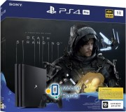 SONY PS4 1 TB Black Pro (Death Stranding)