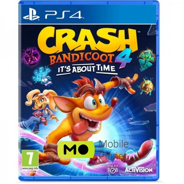activision Crash Bandicoot 4: Its About Time (PS4) UA