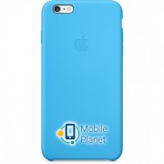 Аксессуар для iPhone Apple Silicone Case Blue (MGRH2) for 6 Plus
