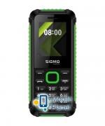 Sigma mobile X-style 18 Track black-green Госком