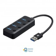 2E USB 2.0 to 4 * USB3.0, with switch, 0.25 м (2E-W1405)