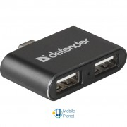 Defender Quadro Dual USB3.1 TYPE C - USB2.0, 2 port (83207)