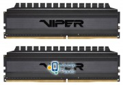 DDR4 2x8GB/3200 Patriot Viper 4 Blackout (PVB416G320C6K)