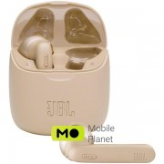 JBL T225 True Wireless in-Ear Headphone Gold (JBLT225TWSGLD)