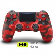 Sony DualShock 4 V2 Red Camouflage